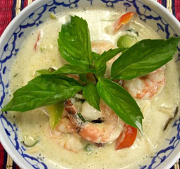 Shrimp Green Curry